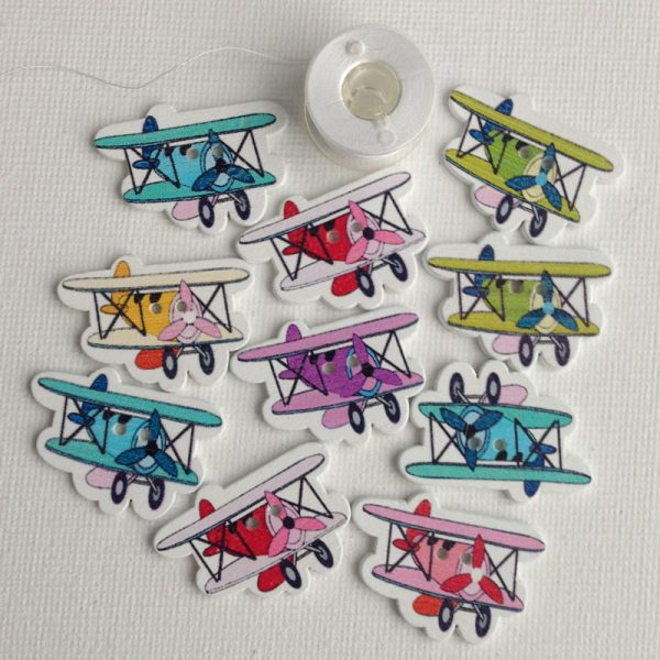1012-wooden-biplane-buttons