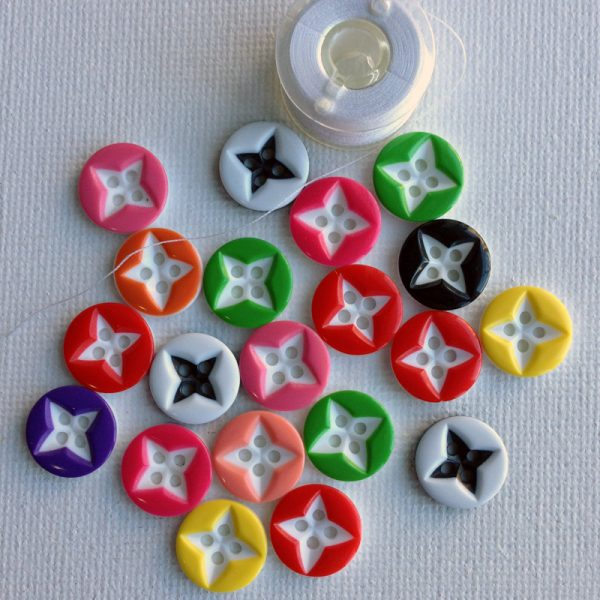 1086-round-star-inside-resin-buttons