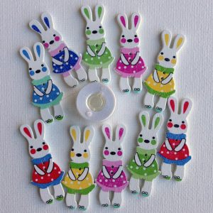 1106-wooden-bunny-girl-dresses-buttons