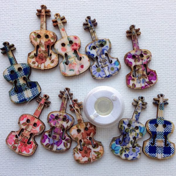 1135-wooden-acoustic-guitar-patterned-buttons