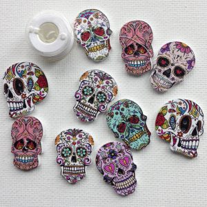 1139-wooden-sugar-skull-buttons