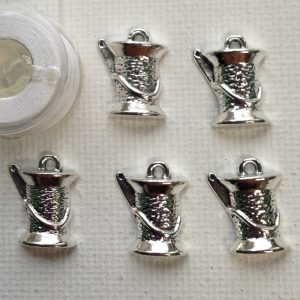 C112-spool-thread-needle-charms-silver