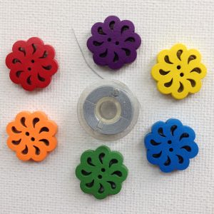1169-feather-shaped-cut-out-flower-buttons-6-colours