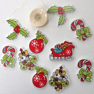 1192-merry-christmas-themed-buttons