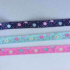"Pastel Flowers Ribbon (5/8"")"